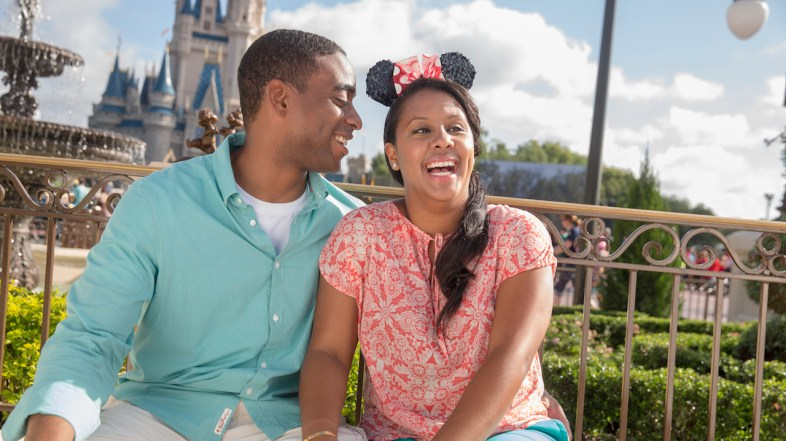 New Private Disney Photo Sessions in Front of Cinderella's Castle for only $50 with PhotoPass