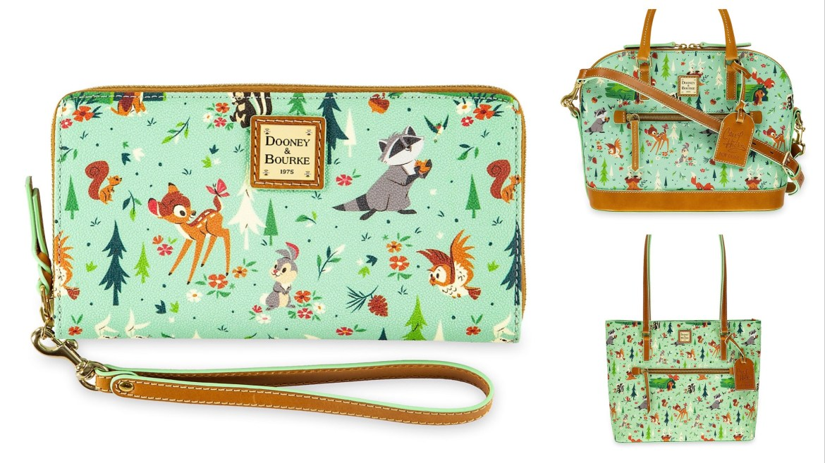 New Forest Bambi and Friends Dooney and Bourke Collection Today