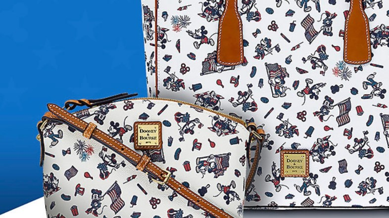 New Patriotic Disney Dooney and Bourke just in time for summer