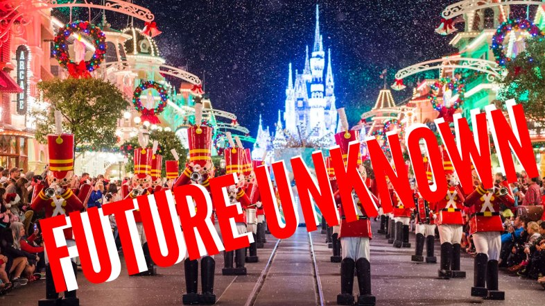 Future Uncertain for Mickeys Very Merry Christmas Party