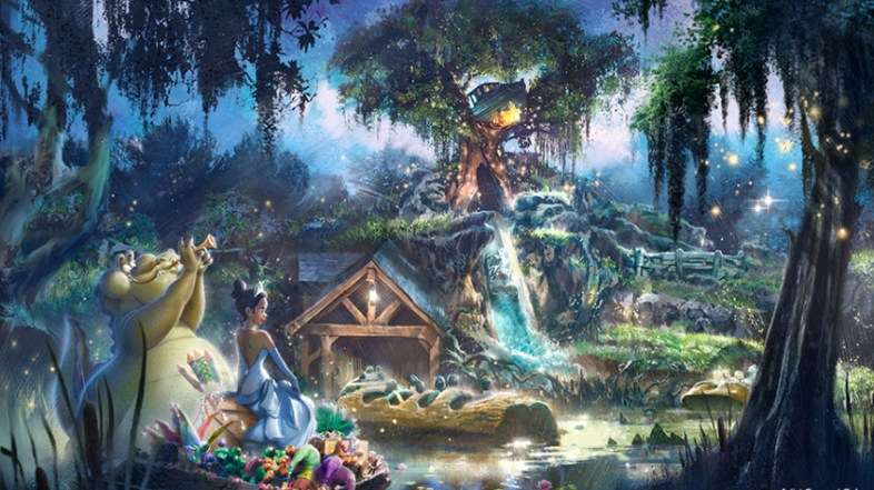 Breaking: Disneyland and Walt Disney World to Re-Theme Splash Mountain to Princess and the Frog