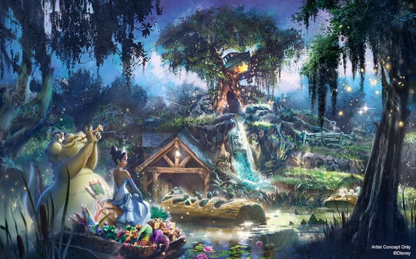 Breaking: Disneyland and Walt Disney World to Re-Theme Splash Mountain to Princess and the Frog