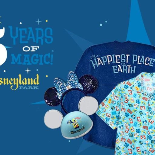 First Look: Disneyland Park 65th Anniversary Merchandise Collection