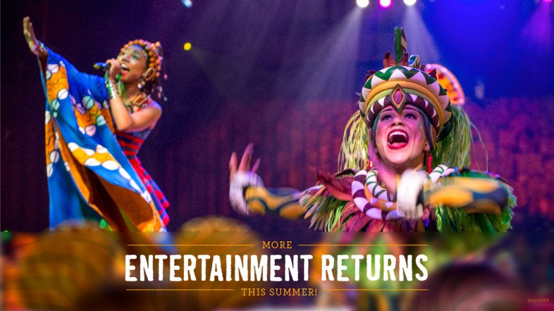 'Festival of the Lion King' Returns to Disney's Animal Kingdom