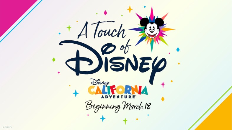 A Touch of Disney Experience coming to Disney's California Adventure