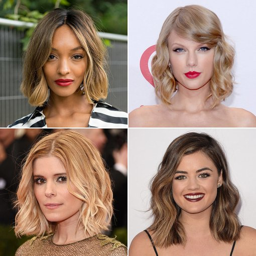 Best-Celebrity-Looks-Short-Wavy-Hair-2014