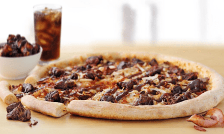 BBQ Beef Brisket Pizza from Papa John's