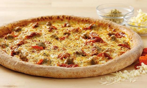 Sausage & Pepperoni Pizza from Papa John's