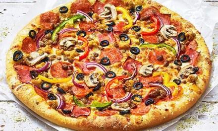 Super Supreme Pizza from Pizza Hut