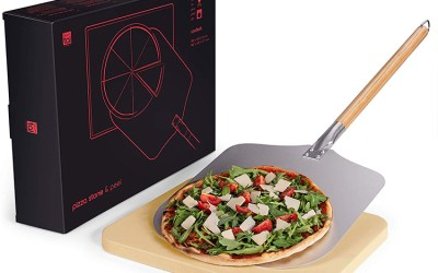 Blumtal Pizza Stone with Peel