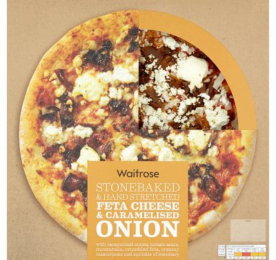 Feta Cheese & Caramelised Onion Pizza from Waitrose
