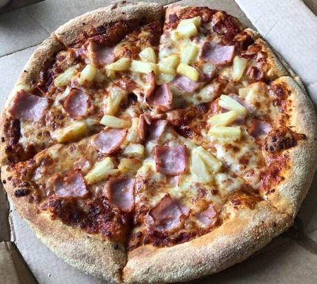 Ham & Pineapple Pizza Review. Ham & Pineapple Pizza Domino's