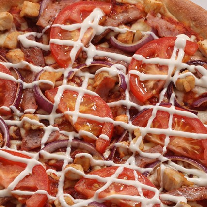Tops Club Pizza Review, Tops Club Pizza from Tops Pizza
