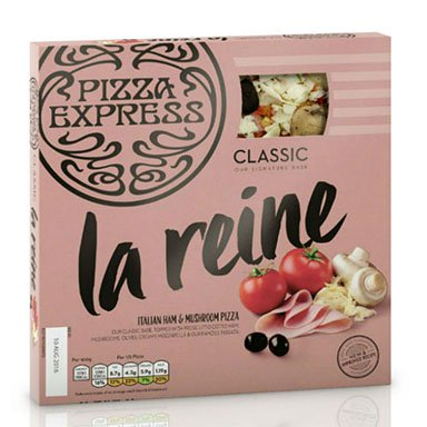 La Reine Pizza Review, Cook at Home Range from Pizza Express