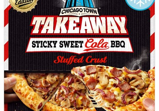 Chicago Town Takeaway Sweet Cola BBQ Pizza from Tesco