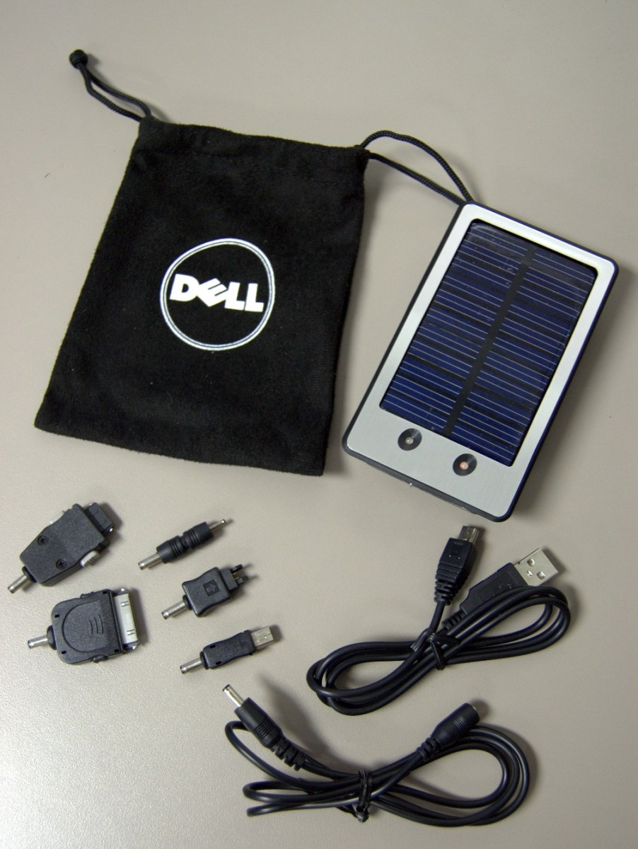 Review Dell Solar Charger For Mobile Devices Thepizzy