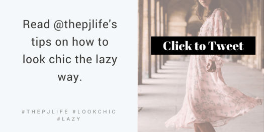The PJ LIfe- Click to Tweet-chic