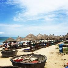 The beach near Hoi An