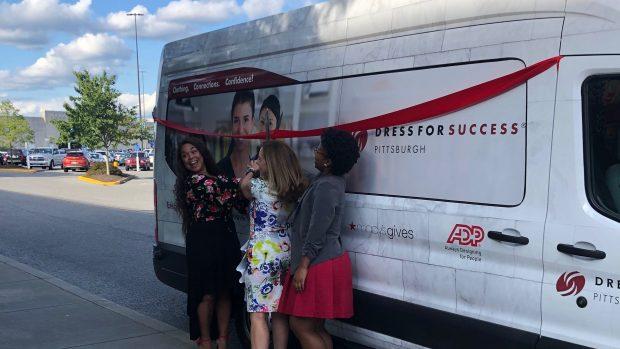 Dress For Success: Mobile Boutique Launch