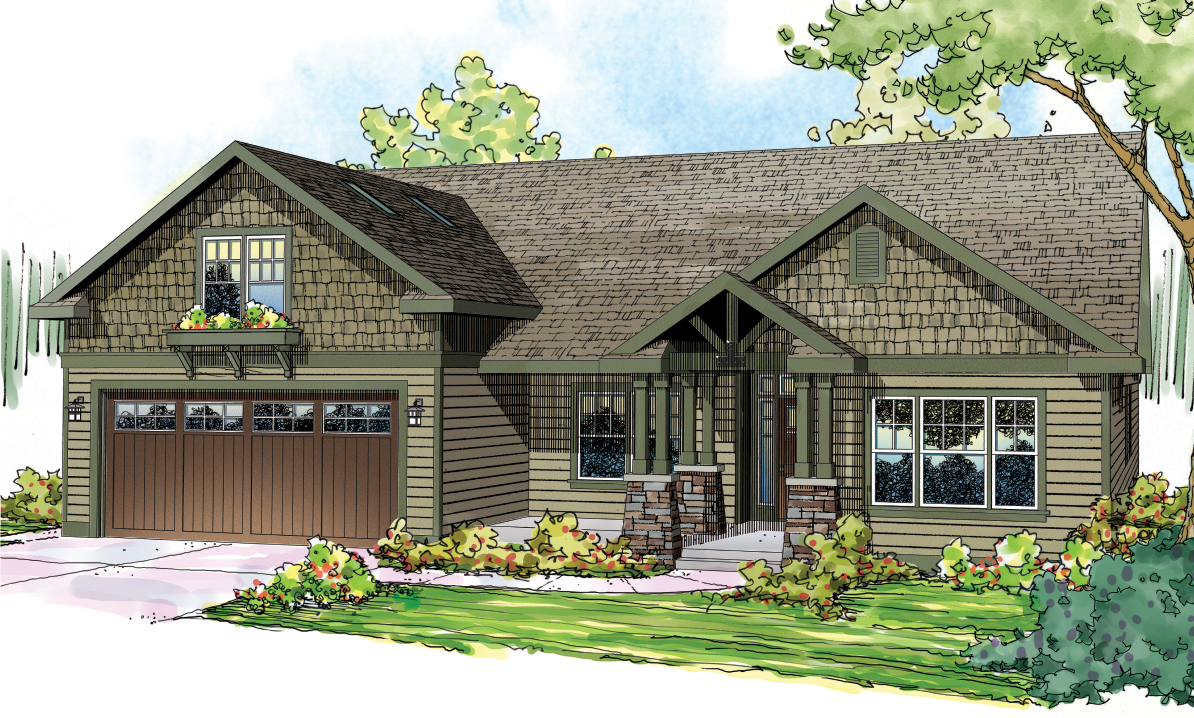Craftsman House Plan #108-1717: 3 Bedroom, 2319 Sq Ft Home