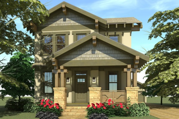 Arts and Crafts House Plan 1161087 3 Bedrm 2080 Sq Ft