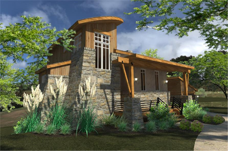 Contemporary Cottage House Plan