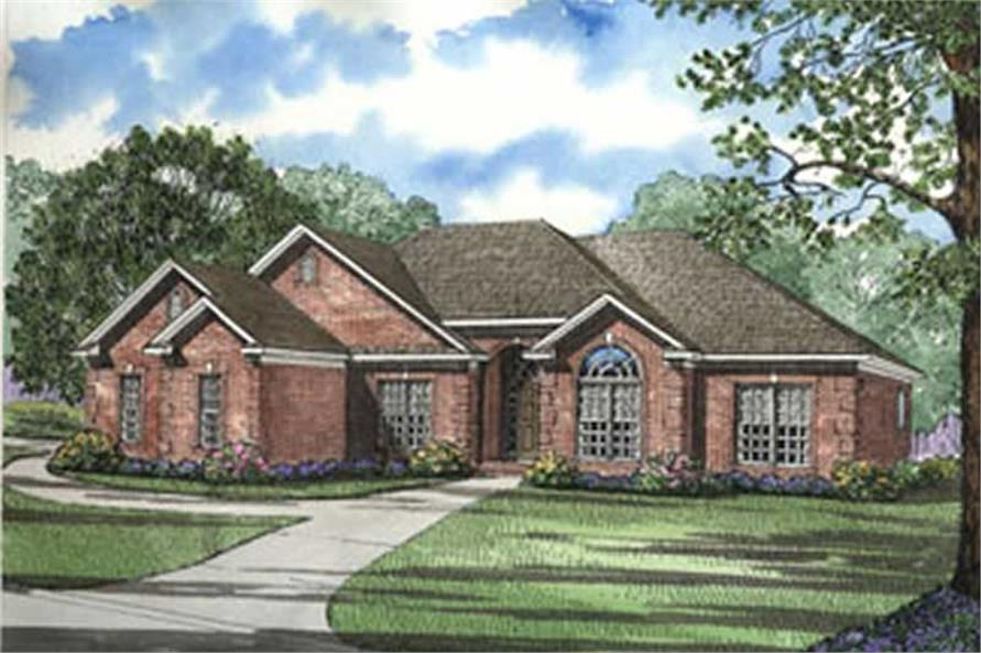4 Bedroom, Southern, Traditional House Plans