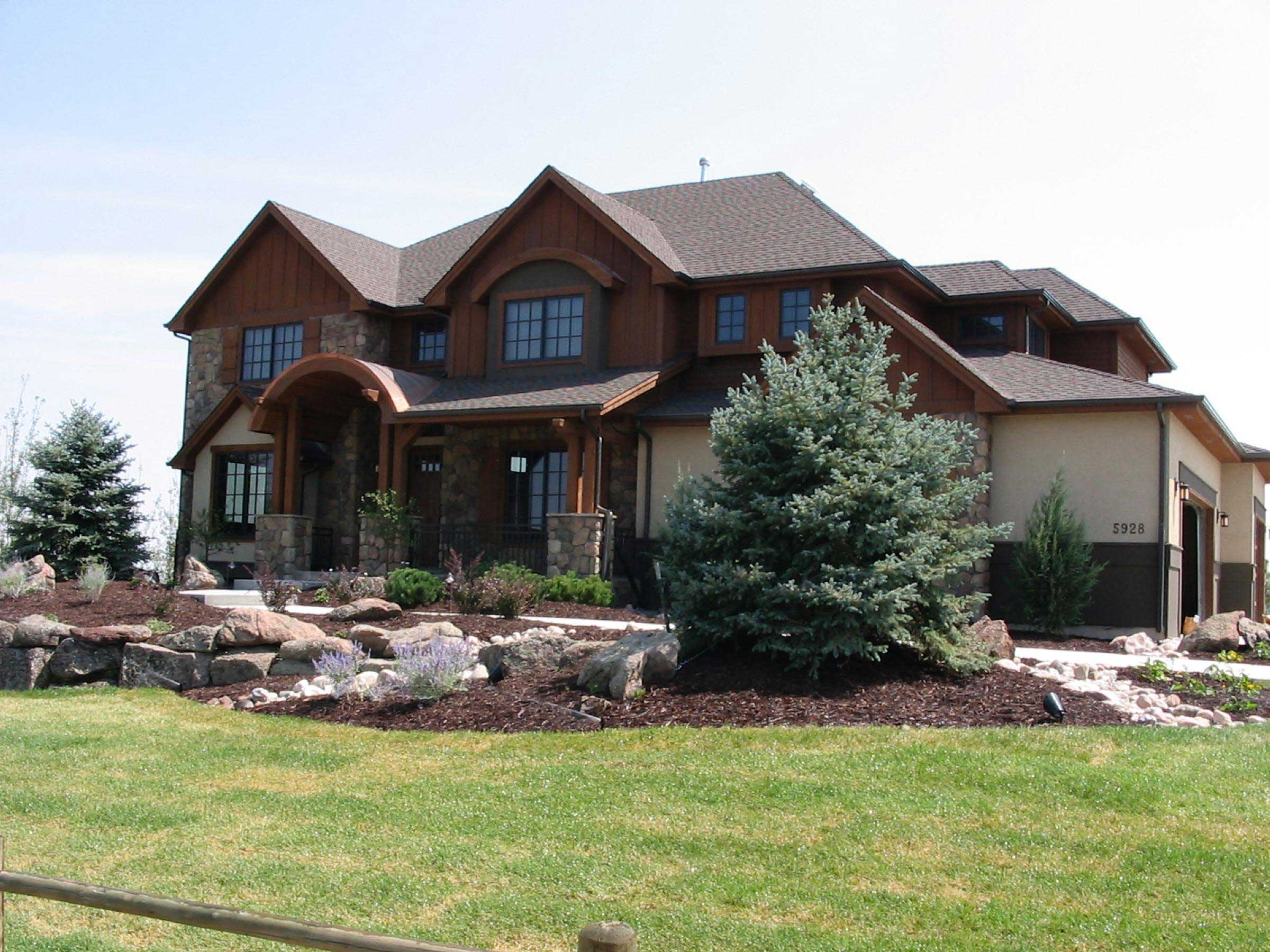 Rustic Mountain House Plans