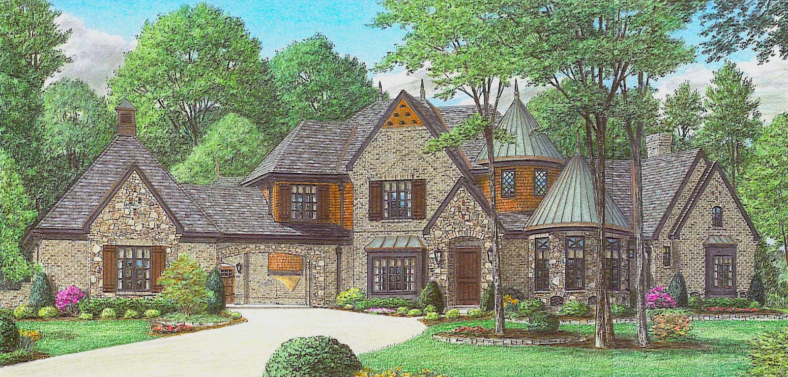French, Country House Plans