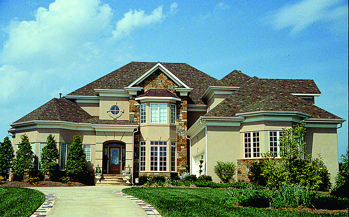 3757 Sq Ft Contemporary House Plan #180-1023: 4 Bedrm Home