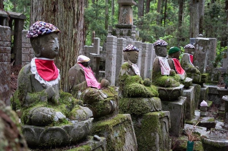 japan cemetery koyasan four jezu