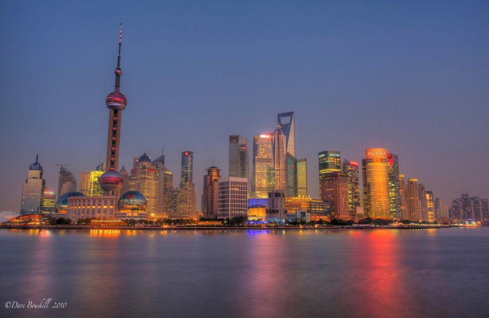 Image result for shanghai skyline