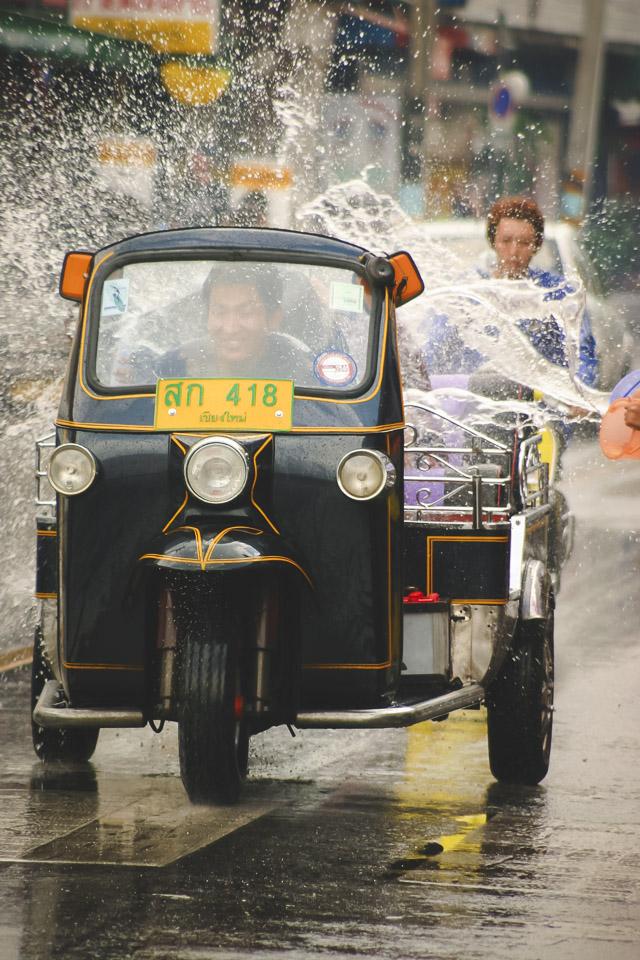 About Songkran Water Festival