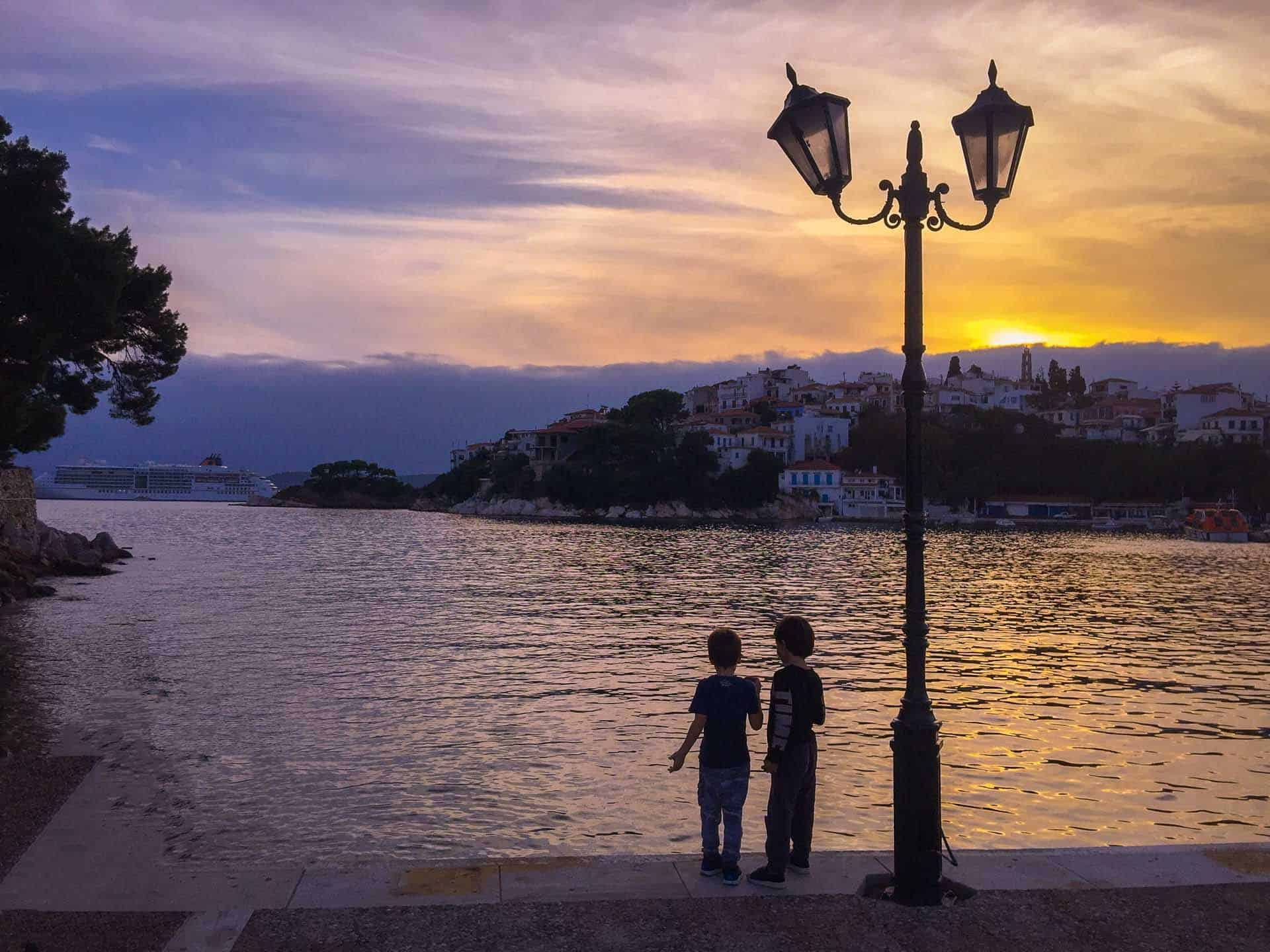 places to visit in skiathos waterfront