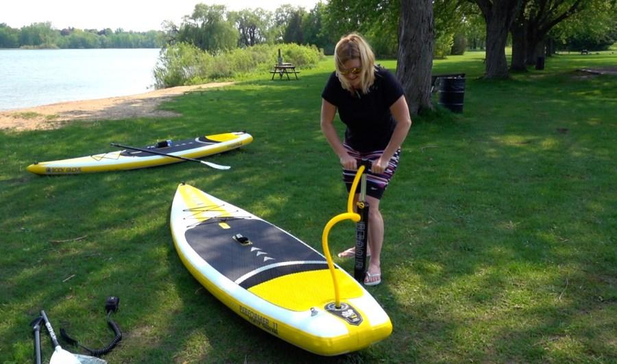 inflatable paddleboard deb