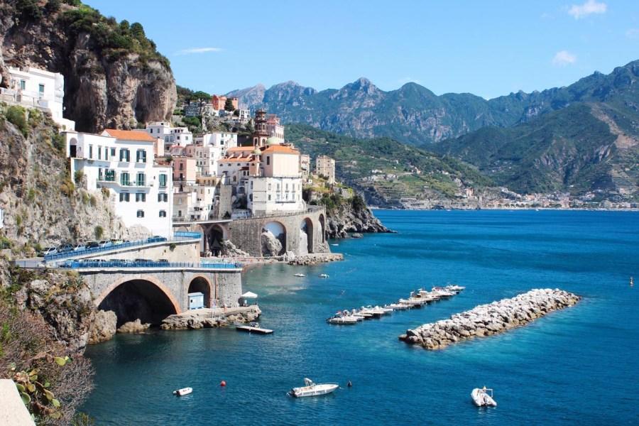atrani amalfi coast italy coastal resort towns