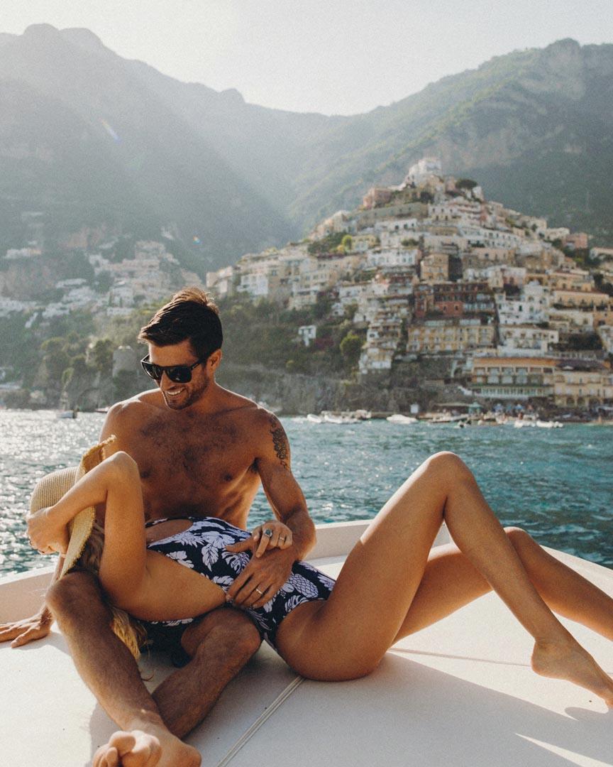 best italian coastal towns positano yacht