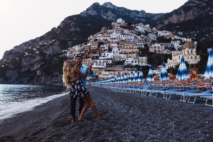 italy coastal towns positano