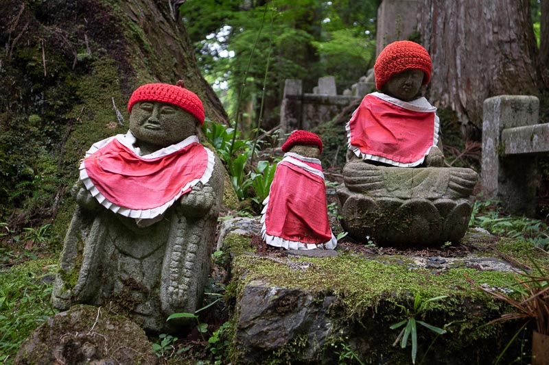 jezu bosatsu trio okunoin cemetery