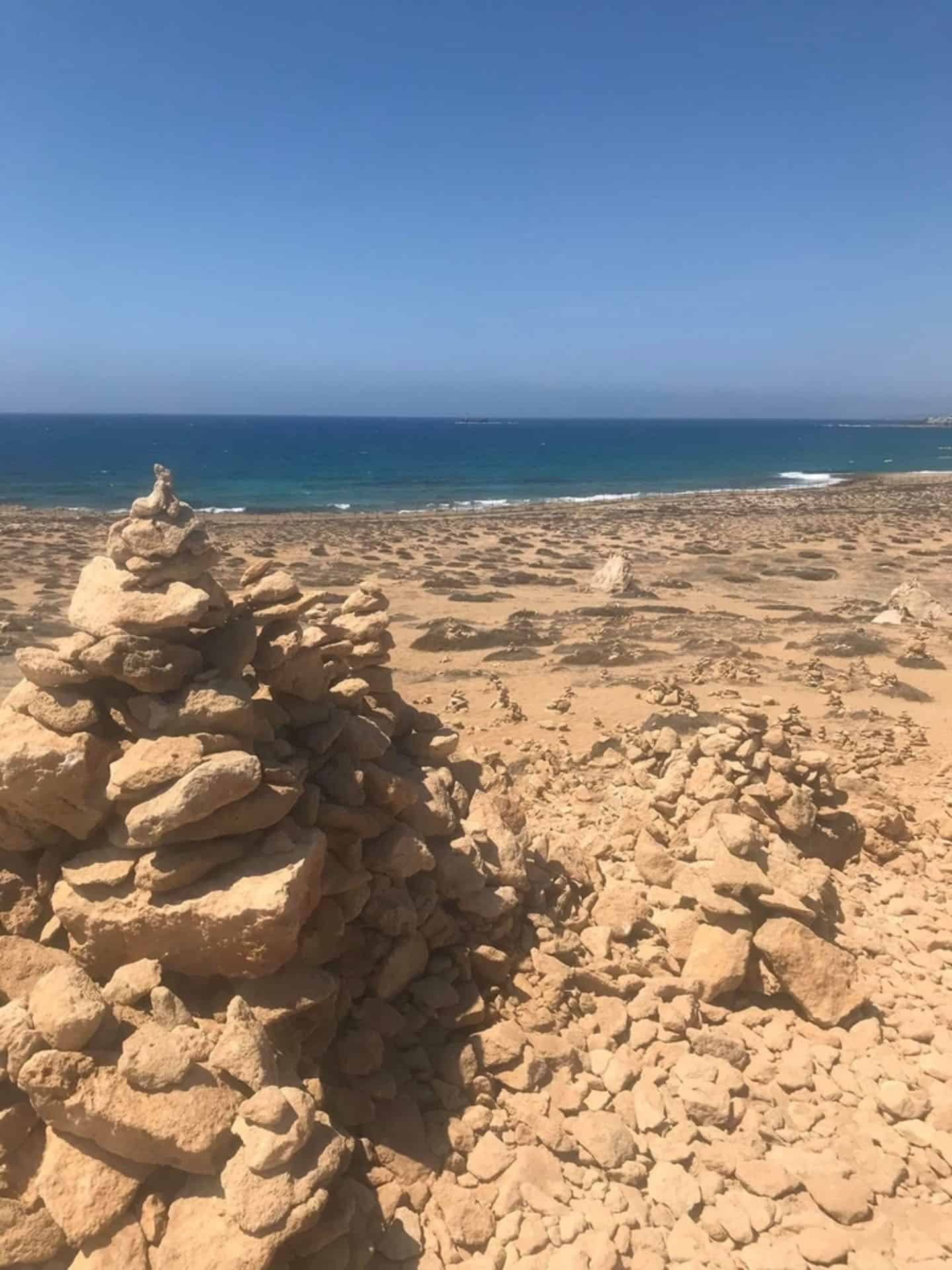 best places in cyprus - tomb of the kings beach