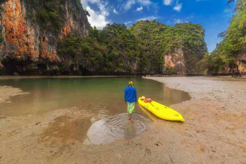 best beaches in Thailand kayak in
