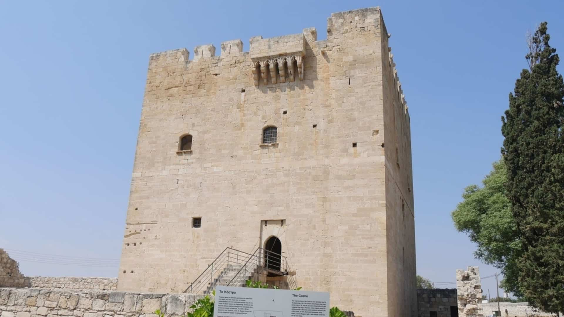 places in cyprus kolossi castle