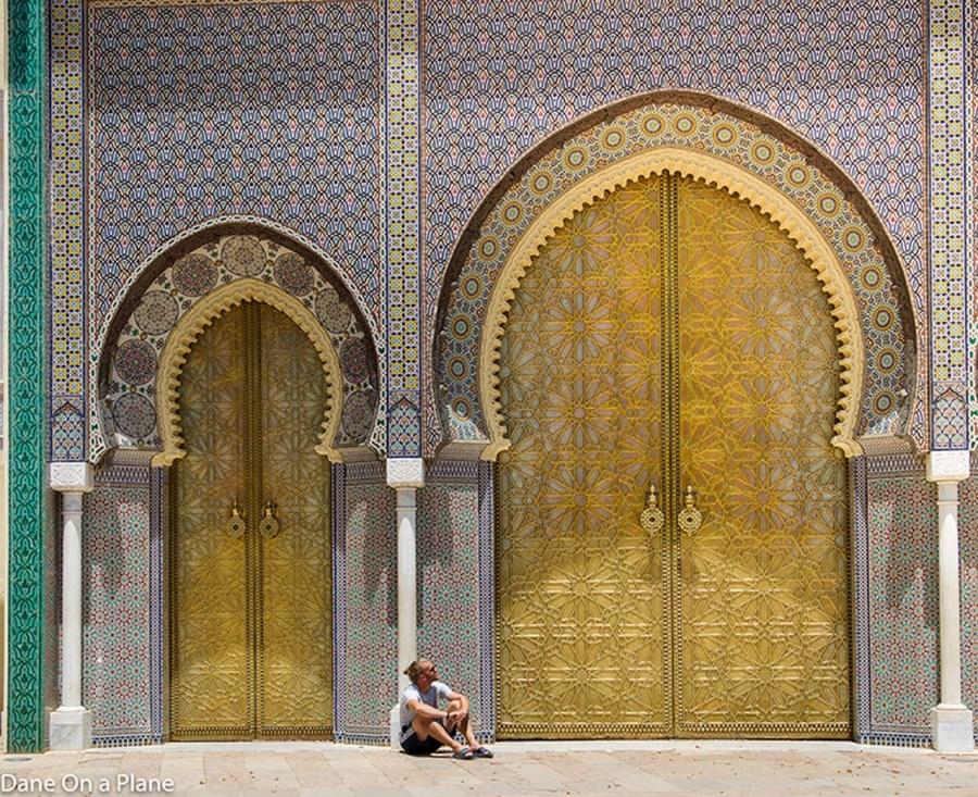 morocco people doors