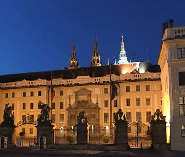 What To Do In Prague Presidential Palace Entrance