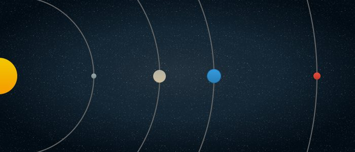 Eight Solar Planets Picture