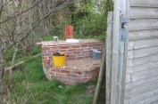 Surely one of the nicest outdoor compost toilets I've ever seen, let alone used. Composting our own poo is an easy, effective and natural method of disposing of, or should I say recycling it.