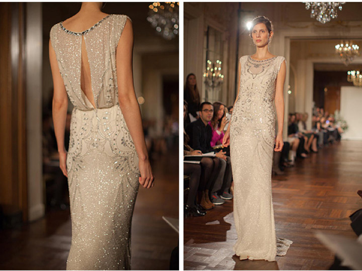 Jeweled Neckline Wedding Dresses