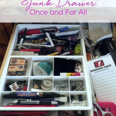 How to Eliminate Your Junk Drawer Once and For All