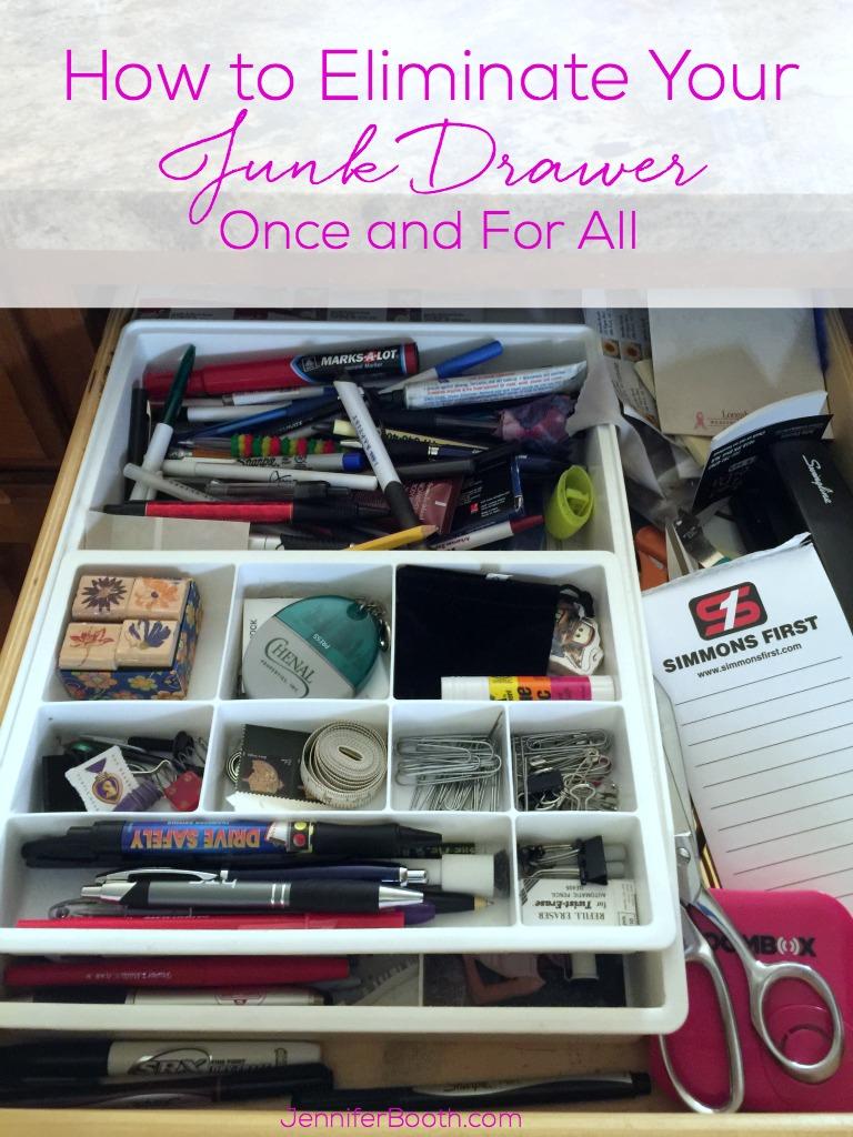 Eliminate Junk Drawer