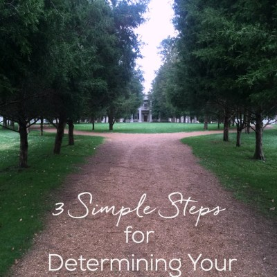 3 Simple Steps for Determining Your Priorities
